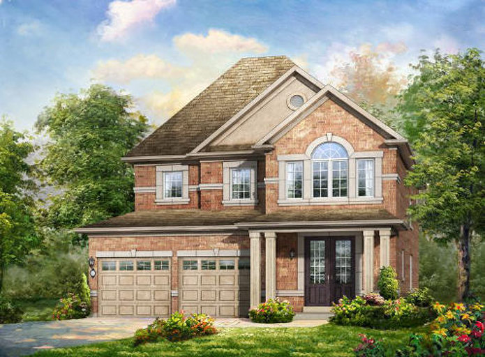 Fairlawn floor plan at Mount Pleasant by Rosehaven Homes in Brampton, Ontario