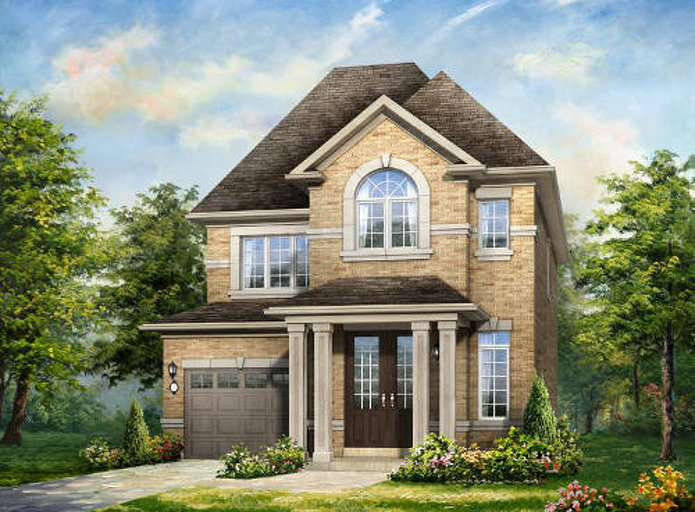 Crystalview floor plan at Mount Pleasant (RH) by Rosehaven Homes in Brampton, Ontario