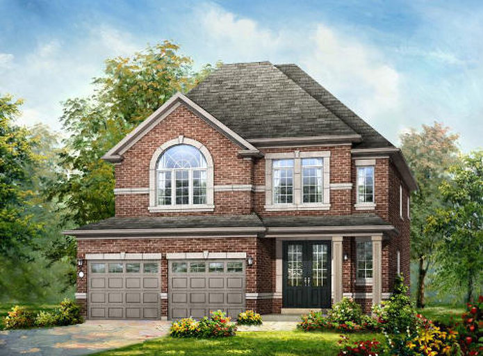 Dorchester floor plan at Mount Pleasant by Rosehaven Homes in Brampton, Ontario