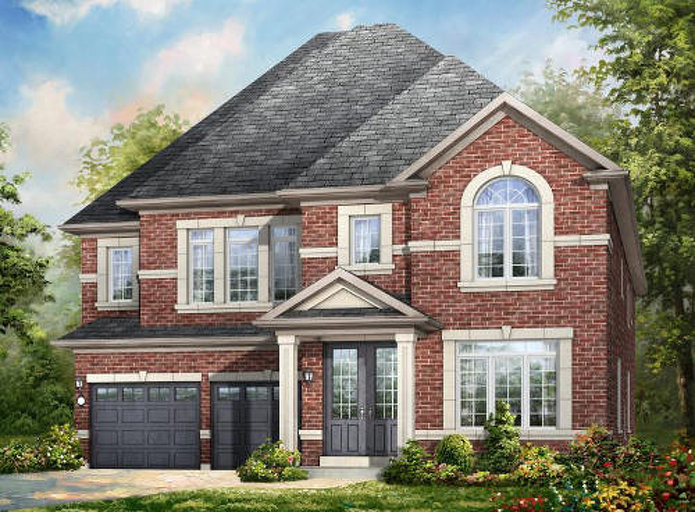 Valleycreek floor plan at Mount Pleasant by Rosehaven Homes in Brampton, Ontario