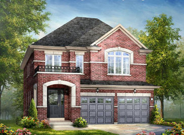 The Canadian Colours new home model plan at the Lotus Pointe by Rosehaven Homes in Caledon