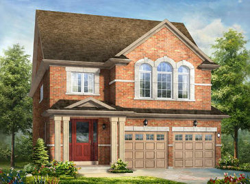 The Powerplay new home model plan at the Lotus Pointe by Rosehaven Homes in Caledon