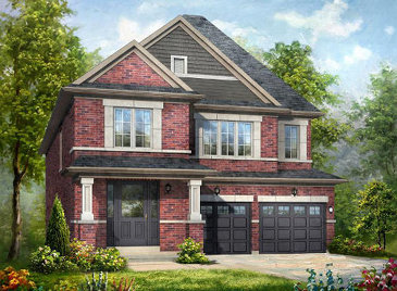 The Victor new home model plan at the Lotus Pointe by Rosehaven Homes in Caledon