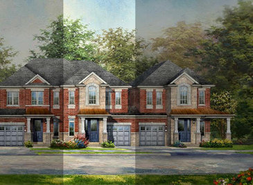 The Star Power new home model plan at the Lotus Pointe by Rosehaven Homes in Caledon