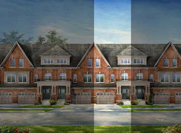 The Viceroy A2/B2 new home model plan at the Lotus Pointe by Rosehaven Homes in Caledon