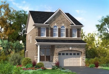 The Langley new home model plan at the Mount Pleasant (TH) by Townwood Homes in Brampton