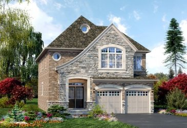 The Grange new home model plan at the Mount Pleasant (TH) by Townwood Homes in Brampton