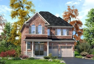 The Gladstone new home model plan at the Mount Pleasant (TH) by Townwood Homes in Brampton