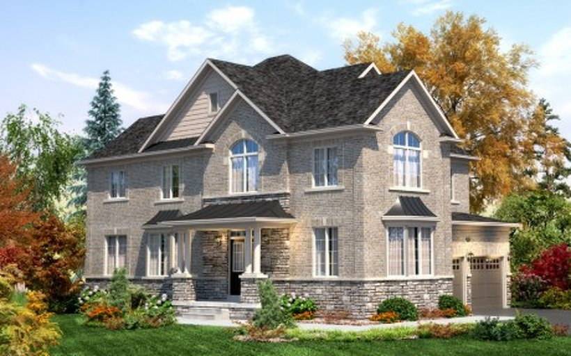 Willowby Corner floor plan at Mount Pleasant (TH) by Townwood Homes in Brampton, Ontario