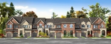 The Redfern new home model plan at the Mount Pleasant (TH) by Townwood Homes in Brampton