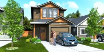 The Icon new home model plan at the Kettle Creek Station by Turner Lane Development in Langford
