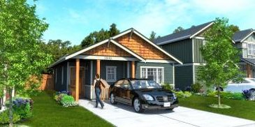 The Renew new home model plan at the Kettle Creek Station by Turner Lane Development in Langford
