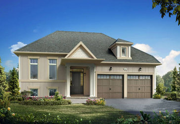 The Angelica new home model plan at the Trillium Forest by Zancor Homes in Wasaga Beach