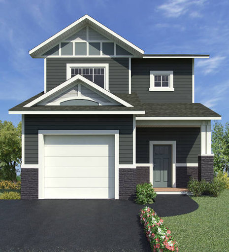 Galena floor plan at Summerhill by Evergreen Homes and Construction in Whitehorse, Yukon