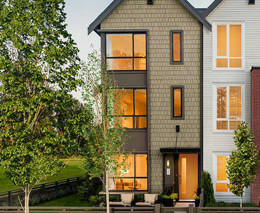 The Capilano Series C new home model plan at the Fremont Indigo by Mosaic in Port Coquitlam