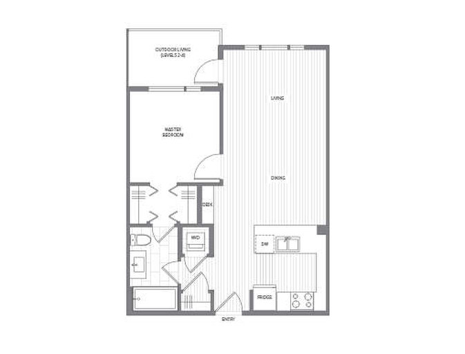 Douglas Collection D Plan floor plan at Fremont Green by Mosaic in Port Coquitlam, British Columbia