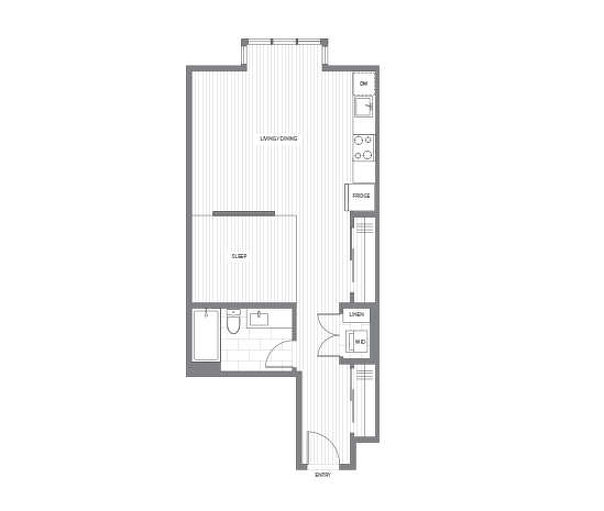 Countess Collection C PLAN floor plan at Fremont Green by Mosaic in Port Coquitlam, British Columbia
