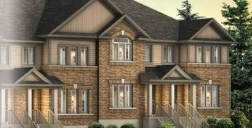 The Hudson II B new home model plan at the Compass Park by Fusion Homes in Guelph
