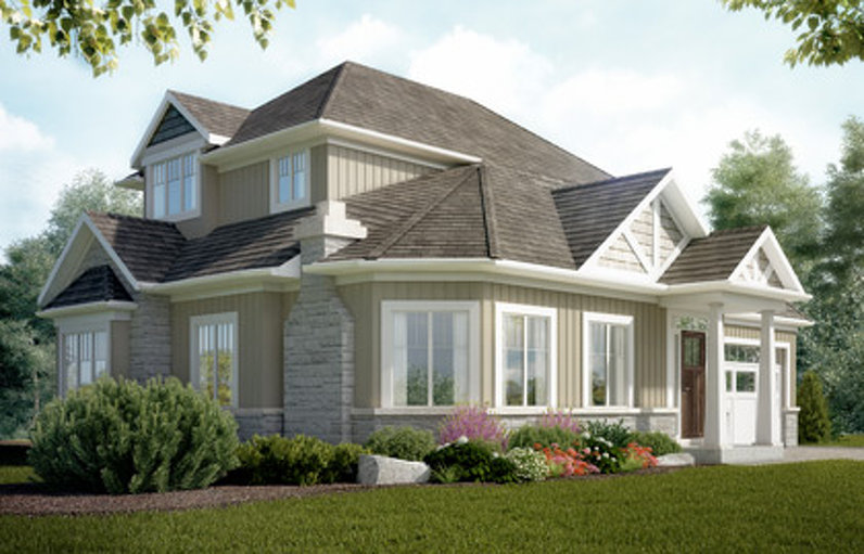 Cedar floor plan at White Cedar Estates by Dunsire Developments in Guelph, Ontario