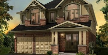 The Helmsley new home model plan at the Blueberry Hill by Fusion Homes in Guelph