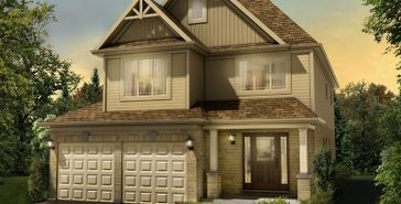 The Charnwood new home model plan at the Blueberry Hill by Fusion Homes in Guelph
