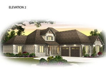 The Eramosa new home model plan at the Usshers Creek by Granite Homes in Ariss