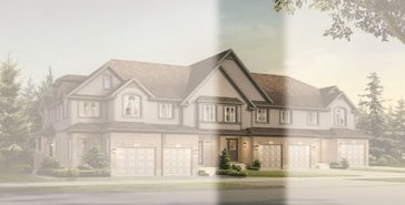 The Caruso II B new home model plan at the Chillico Run by Fusion Homes in Guelph