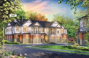 The Juniper new home model plan at the Inspiration at Doon by Eastforest Homes in Kitchener