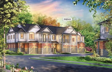The Hollycock new home model plan at the Inspiration at Doon by Eastforest Homes in Kitchener