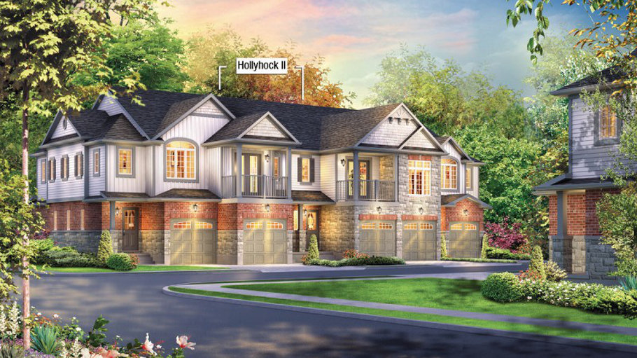Hollyhock II floor plan at Inspiration at Doon by Eastforest Homes in Kitchener, Ontario