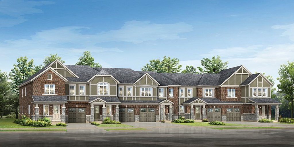 Atwood floor plan at Hawthorne South Village by Mattamy Homes in Milton, Ontario