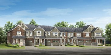 The Atwood new home model plan at the Hawthorne South Village by Mattamy Homes in Milton